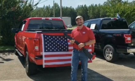 'God, Guns, and Freedom': Car dealership giving away Bible, shotgun and American flag with vehicle purchases to celebrate July 4