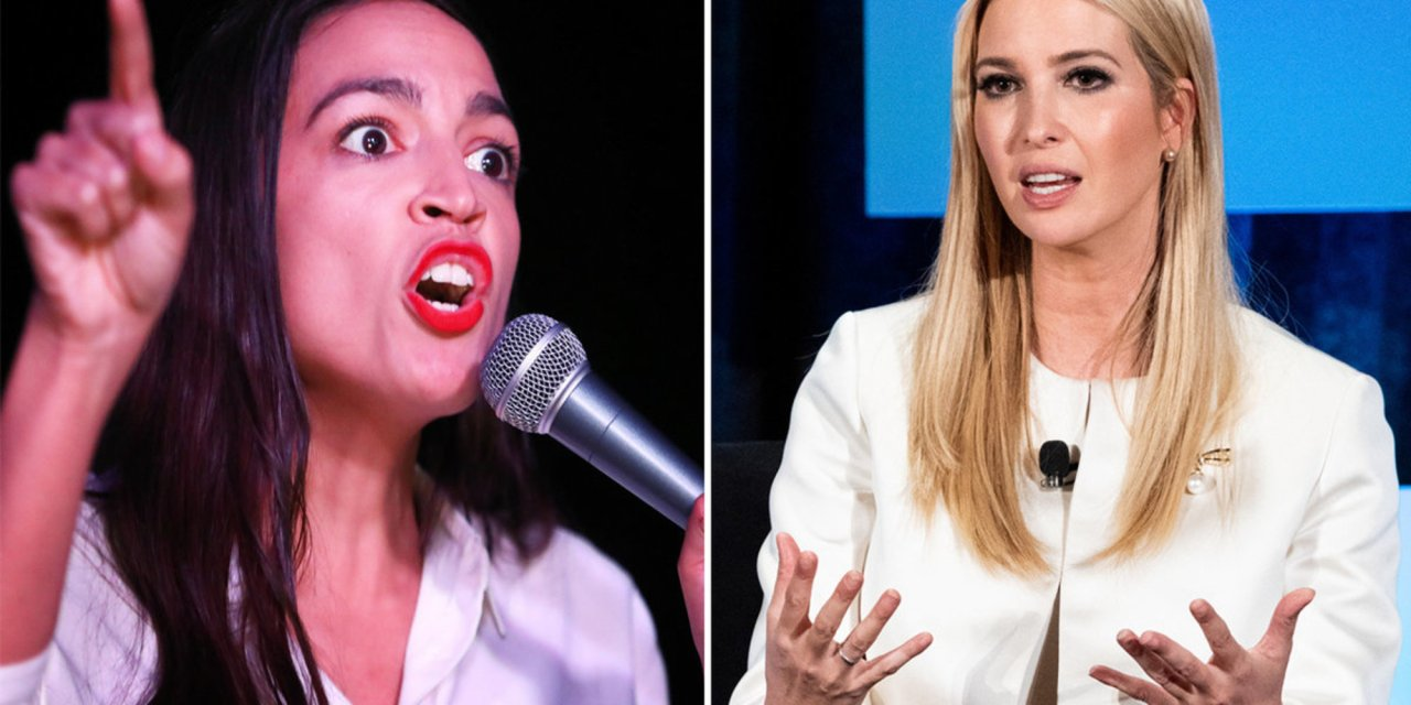 AOC takes aim at Ivanka Trump over 'career qualifications' — it doesn't end well for AOC
