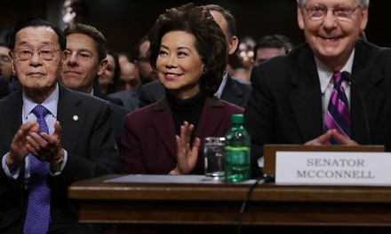 NYT Confirms Schweizer 'Secret Empires' Bombshell on Elaine Chao and Mitch McConnell's China Ties