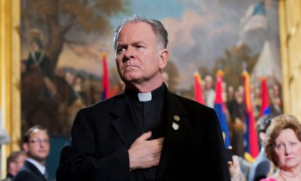 Things have gotten so bad in Congress that a priest prayed to 'cast out all spirits of darkness' on the House floor