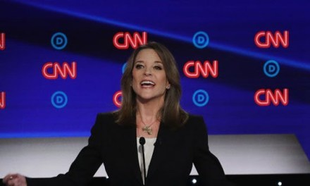 Marianne Williamson Dominates Google Searches in 49 States After Debate