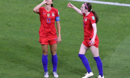 US women's soccer star blames celebration criticism on sexism: 'You see men celebrating all around the world'