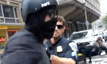 Antifa battling police, attacking MAGA hats in D.C., and it's all being caught on camera