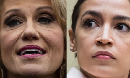 Ocasio-Cortez lashes out at Kellyanne Conway after she mocks her 'catfight' with Nancy Pelosi