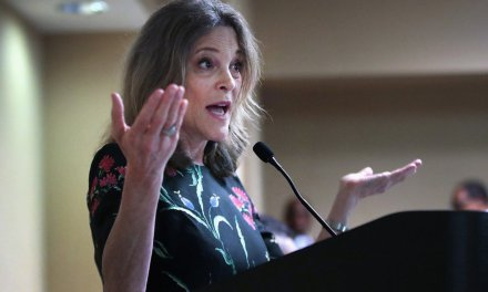 Alyssa Milano chooses Marianne Williamson fundraiser as first of 2020 cycle, to discuss 'soulful ache of the nation'