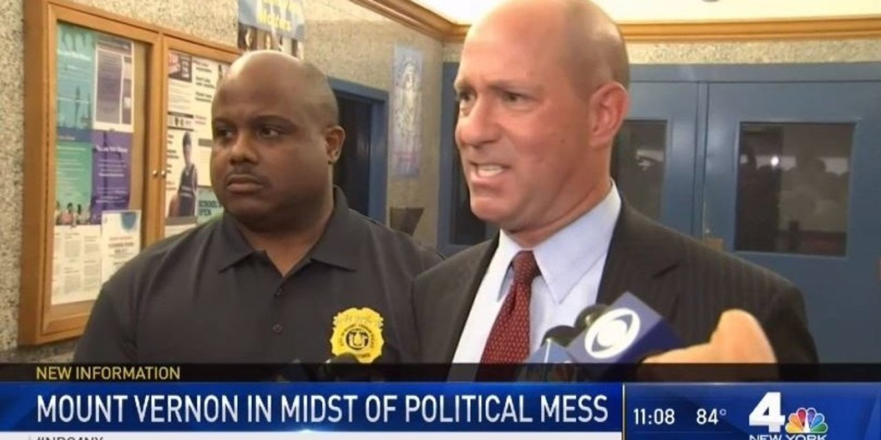 A city in New York currently has two mayors, and the confusion led to the new police commissioner spending 9 hours in jail