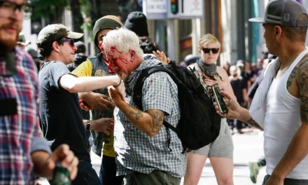 Huff Post publishes op-ed blaming the 'far right' for Antifa attacks and bloodshed