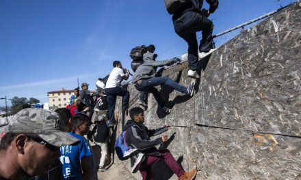 Large group of migrants storm border, assault CBP agents leaving several reportedly injured