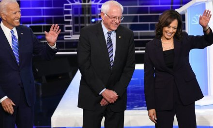 After first round of debates, Kamala Harris moves into second place, hot on the heels of Joe Biden