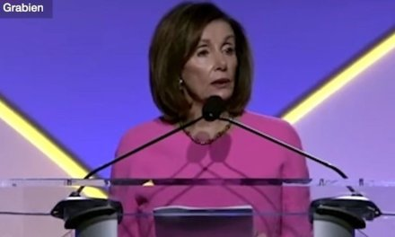 WATCH: Nancy Pelosi 's speech in Detroit sounded like a battle with the English language