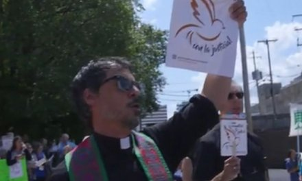 The Evangelical Lutheran Church in America has declared itself the first 'sanctuary church body'
