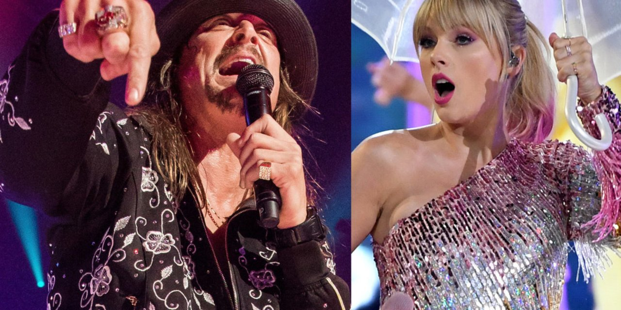 Liberals implode on social media after Kid Rock mocks Taylor Swift for becoming a Democrat
