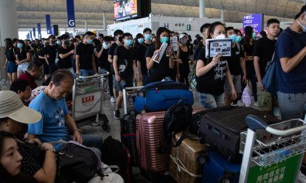 WATCH: Hong Kong protesters seek to stop Chinese extradition deal; flood and shut down airport