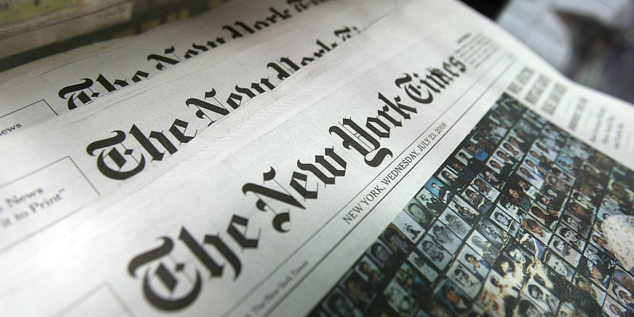 Leaked transcripts reveal how NY Times leadership plans to craft Trump-racism narrative