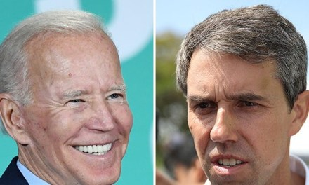 Texas Poll: Joe Biden Leading Beto O'Rourke by 9 Points