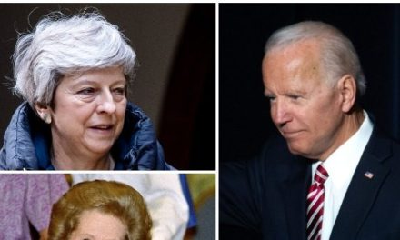 Biden Confuses Ex-British PM Theresa May with Margaret Thatcher