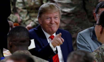 FACT CHECK: No, Fox News Didn't Stage A Photo Of Trump Visiting Troops In Afghanistan