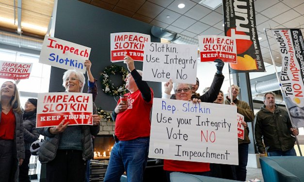 Trump Supporters Erupt At Democratic Rep. Slotkin Town Hall After Coming Out In Favor Of Impeachment