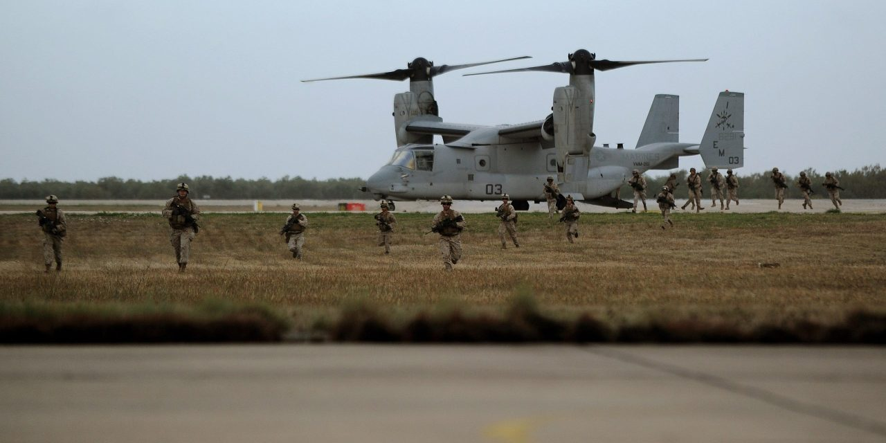 Increased Plane Traffic At U.S. Italian And Spanish Bases Points To The U.S. Getting Ready For Military Confrontation