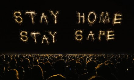 Obama's Massive Birthday Party Concludes With Fireworks Reading 'Stay Home, Stay Safe'