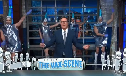 YouTube To Ban All Videos Except The One Showing Stephen Colbert Dancing With People Dressed As Vaccines