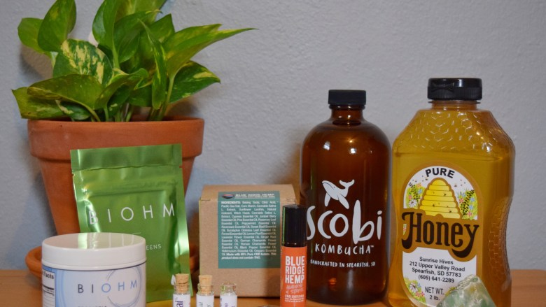 Allergy Season solutions, probiotics, kombucha, honey, cbd oil