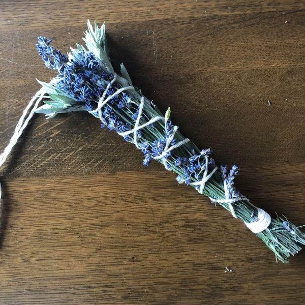 sage and lavender smudge bundle