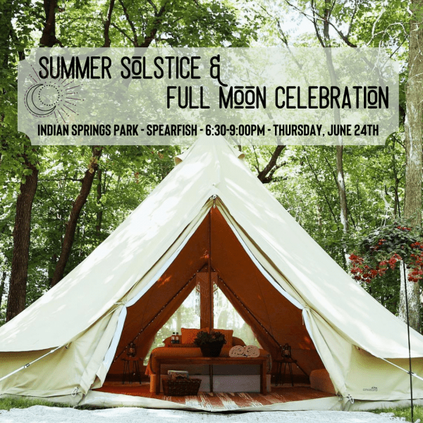 Summer Solstice and Full Moon Celebration with Clarissa Mae Yoga