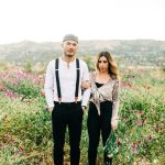 Flower Field Engagement Photos In Orange County Clarisse Rae Photo Video