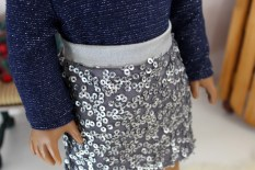 Sequin Mini Skirt- $12