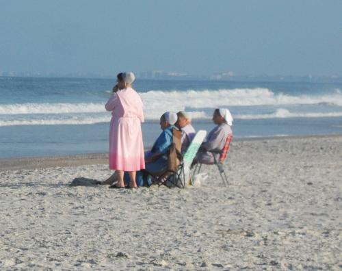 Amish on vacation