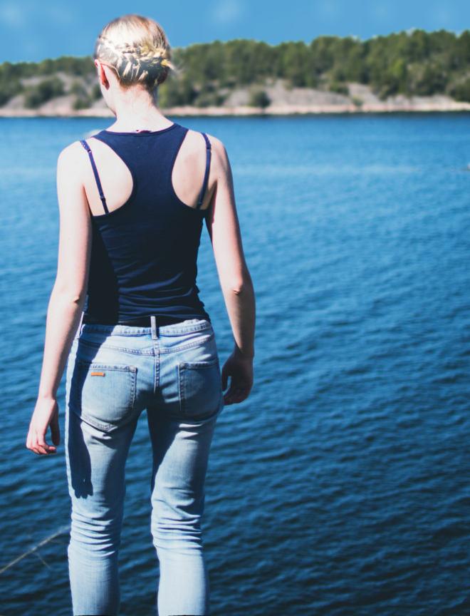 New river girl