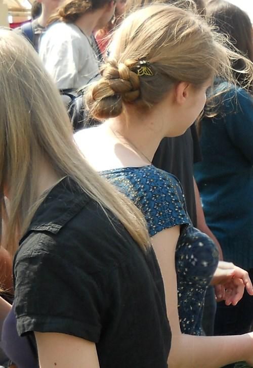 Russian dirty blond girls