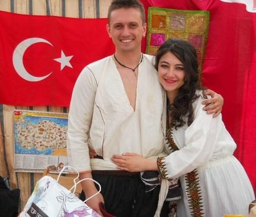 Turkish couple photo