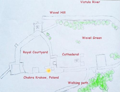 location Wavel castle energy chakra