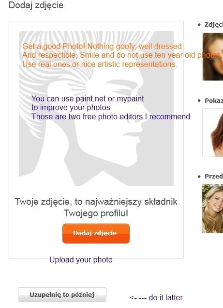 profile photo Polish dating
