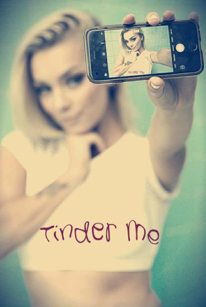 tinder girl over top