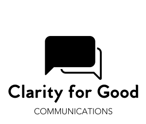 Clarity for Good Communications Logo
