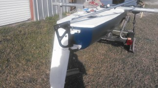 Sol Cat 18 rudder