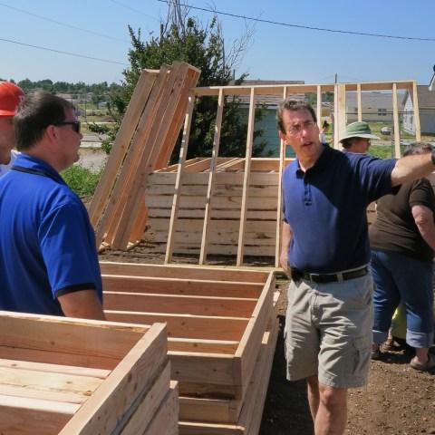 Clark in Joplin on the one-year anniversary of the tornado