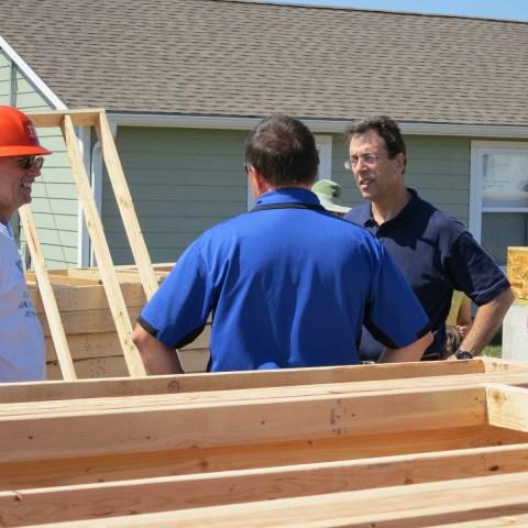 Clark rebuilds in Joplin Mo, – May 2012