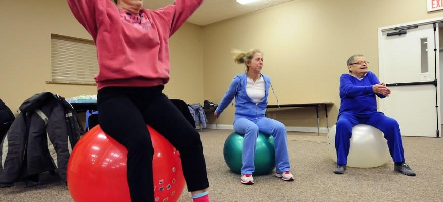 Exercising at work may have its drawbacks
