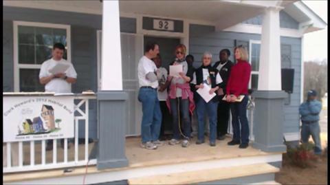 Clark's 50th Atlanta Habitat Home Dedication