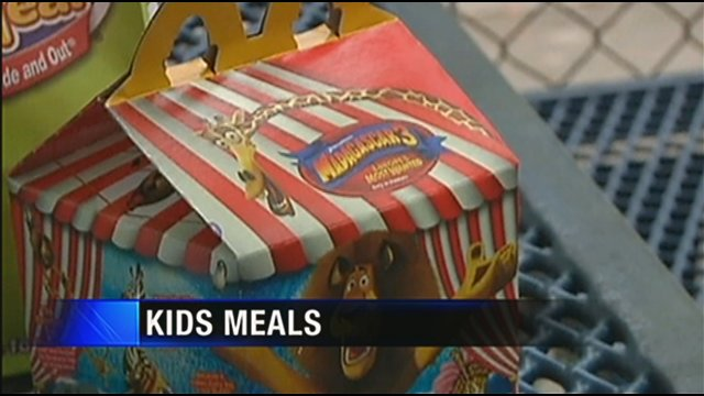Most Kids' Meals Are Unhealthy