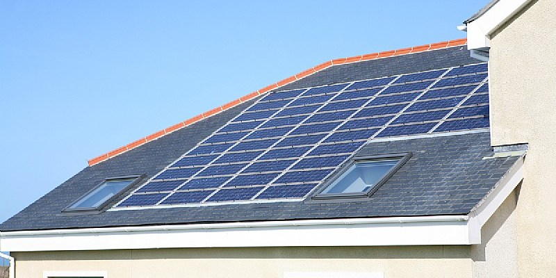 The economics of solar are becoming more favorable