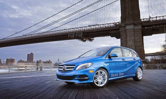 A Compact Electric Car from Mercedes Benz
