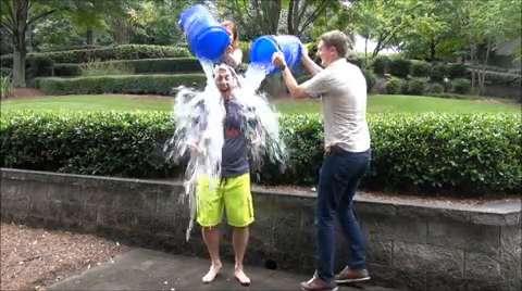 Clark Howard's ALS Ice Bucket Challenge
