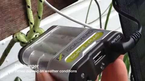Goal Zero Portbable Solar Panel Review
