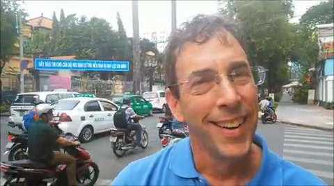 Clark Howard tours Vietnam 2014