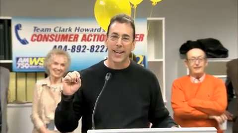 Clark Howard opens the new Consumer Action Center